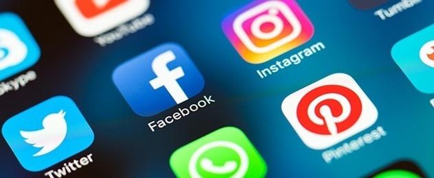 Las diferentes redes sociales