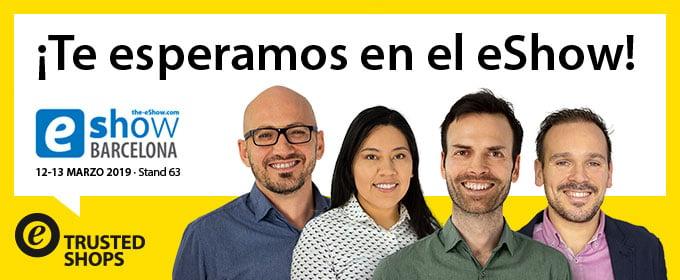 Ven a vernos en el eShow de Barcelona