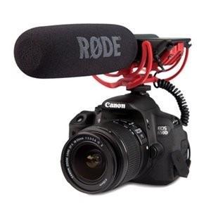 camara Rode con variedad de micrófonos asequibles