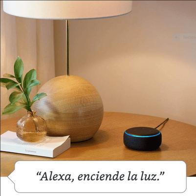 Alexa enciende la luz