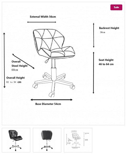 silla de ruedas oficina