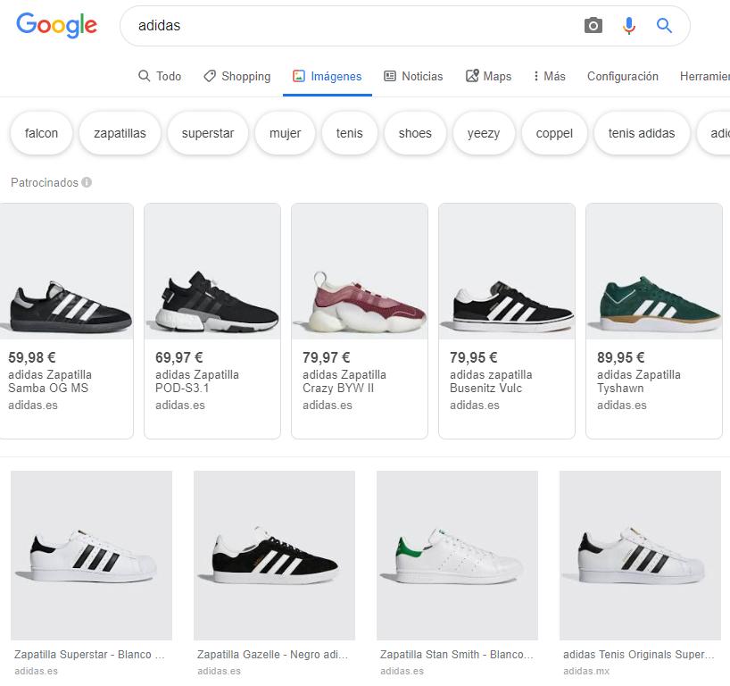 imágenes zapatillas adidas