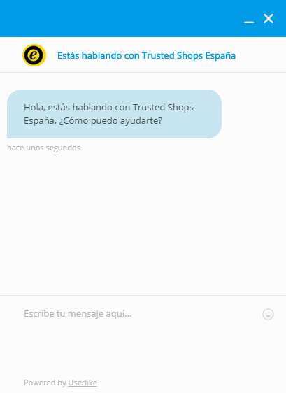 chat de trusted shops