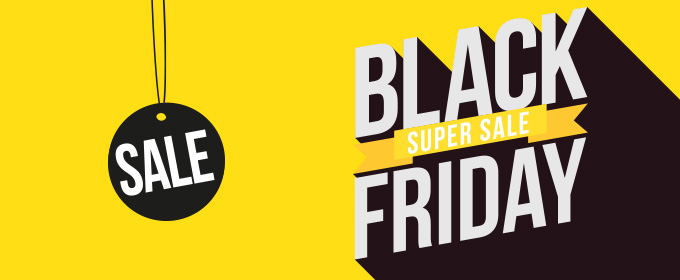 black friday negro amarillo