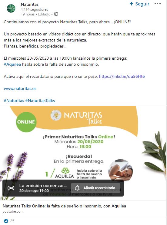 naturitas webinar