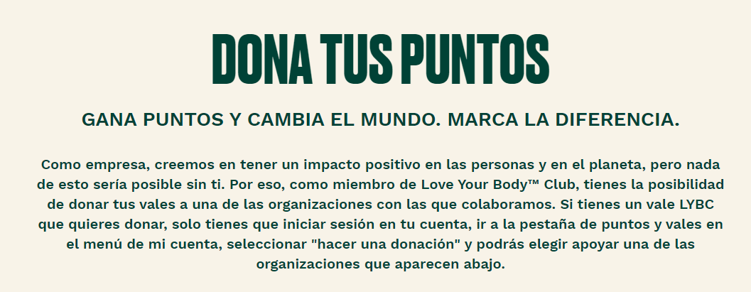 donta tus puntos body shop