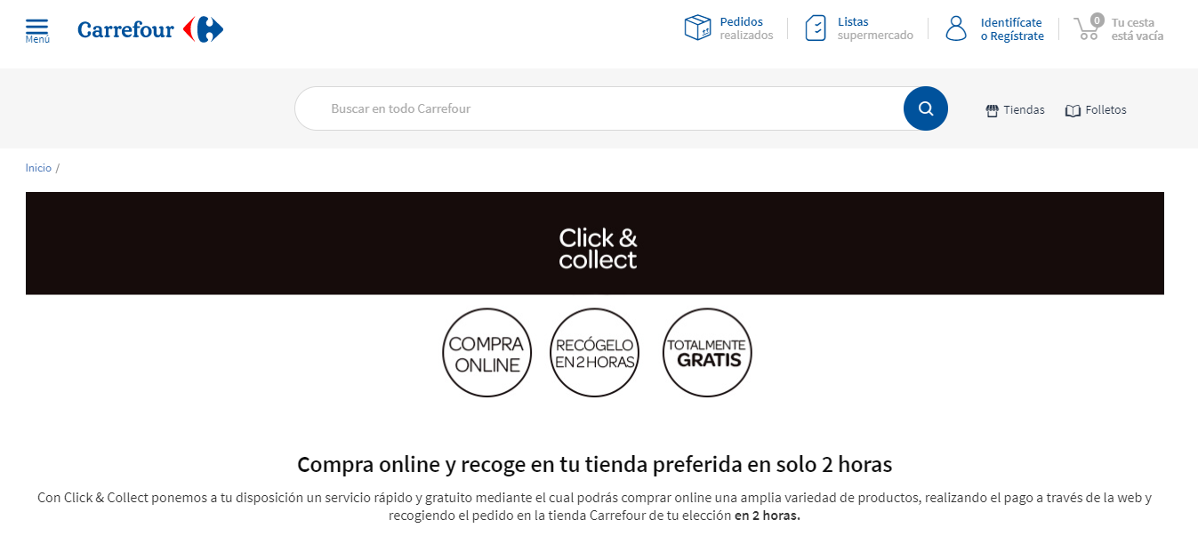 click and collect carrefour
