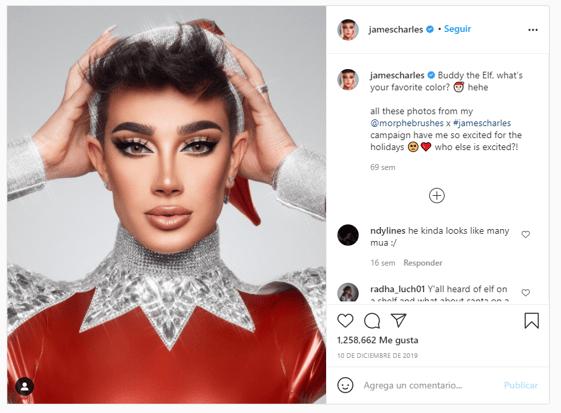 instagram james charles