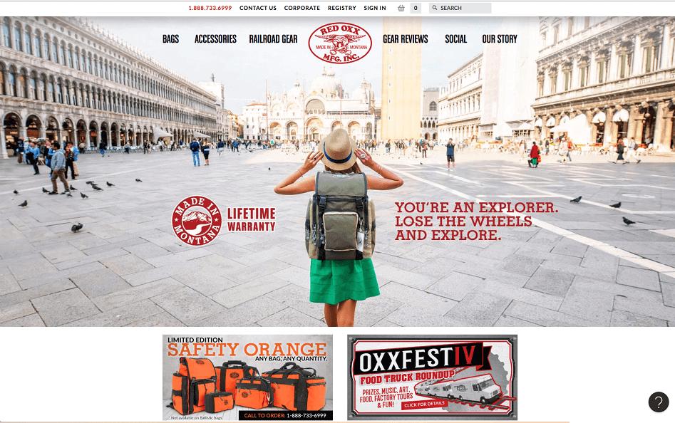 tienda online redoxx luggage