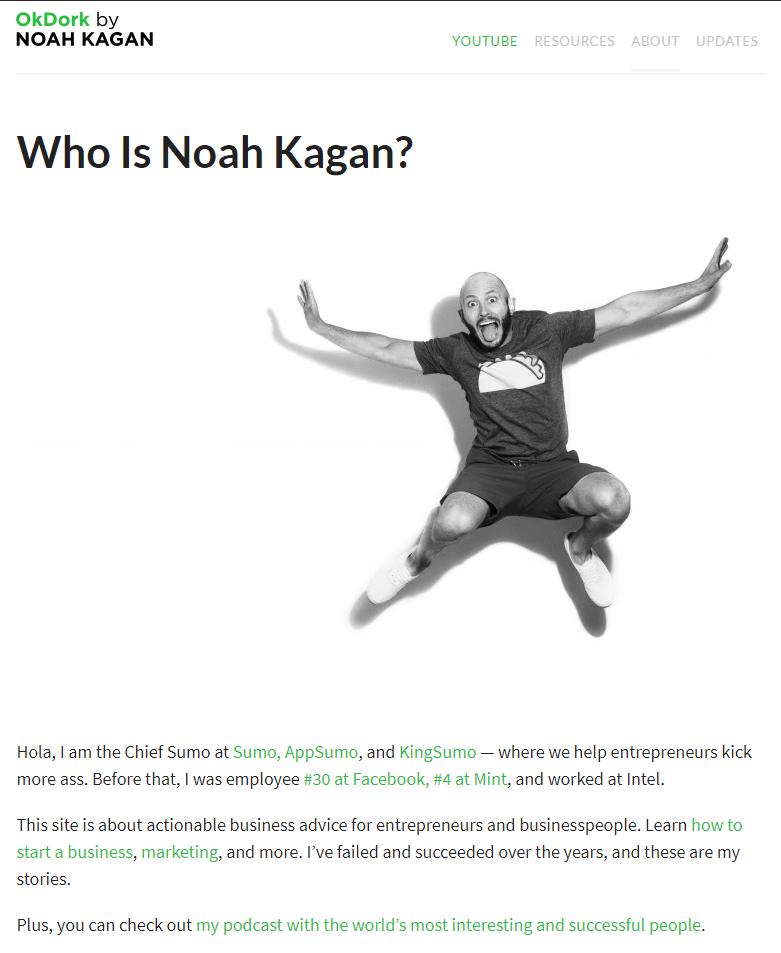 Who is Noah Kagan